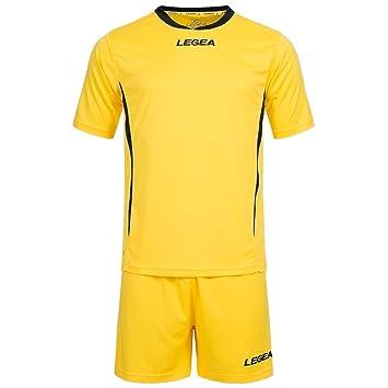 Equipación de fútbol Legea Maglia Dusseldorf MC, camiseta + pantalones, para jugadores de fútbol