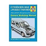 Citroen Berlingo & Peugeot Partner Petrol & Diesel: 1996 to 2010 (Haynes Service and Repair Manuals) by John S. Mead (2011-08-29)