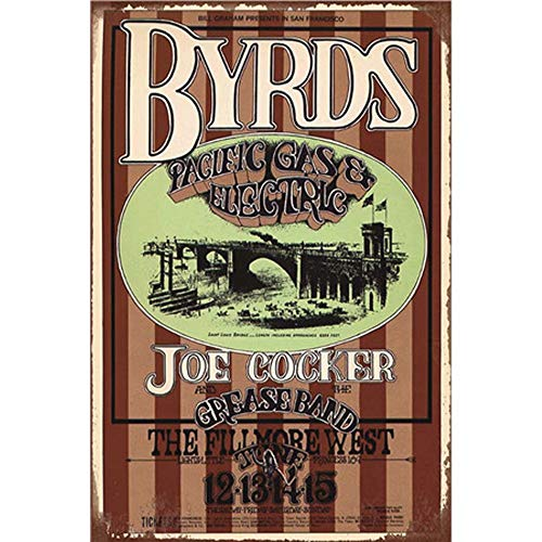 - YOMIA Retro Vintage Tin Signs Painted Cocker Poster Metal Signs Wall Art Metal Poster Plaque Office Hobby Shop Cafe Pub Collector Magnetic Advertising Custom Printing Plaque Metal