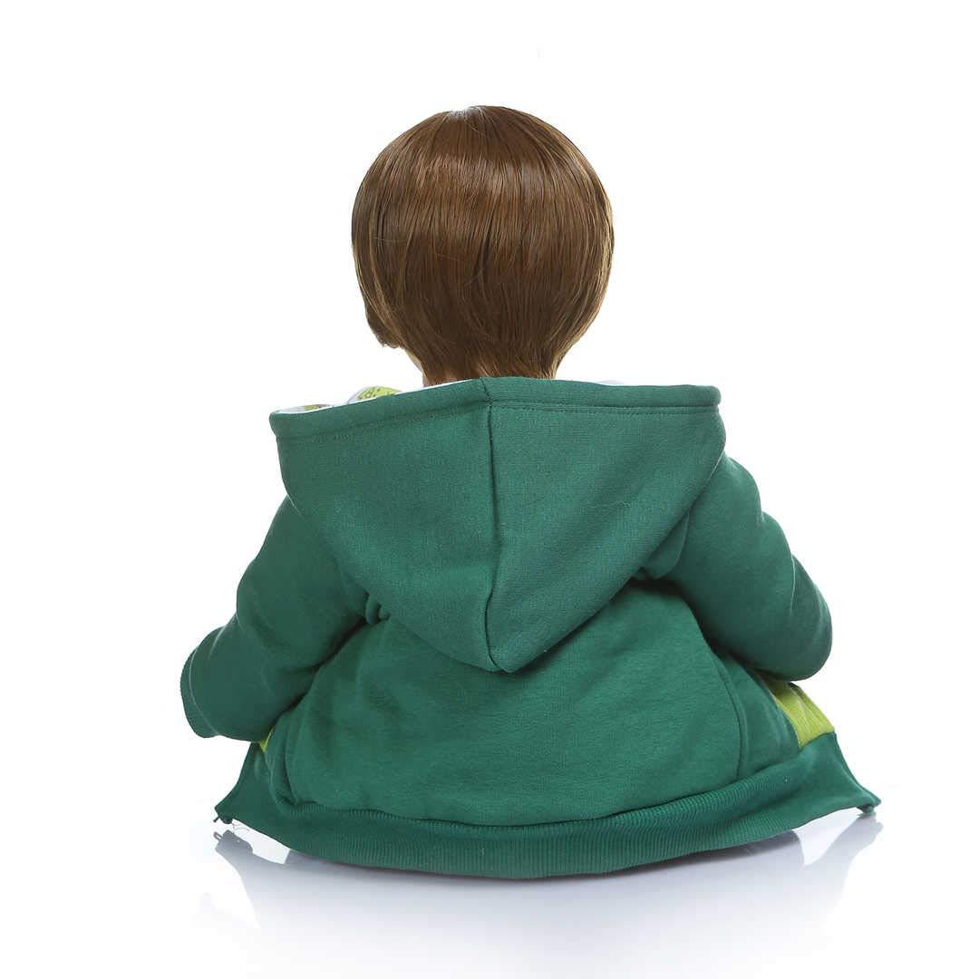 Amazon.com: Muñeca con capucha de 23.6 in para niño recién ...