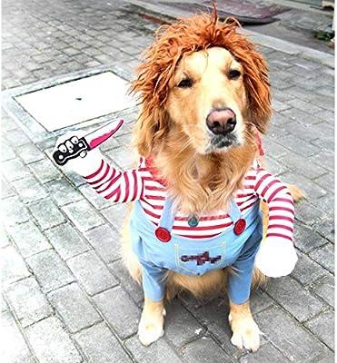 Vivi Bear Traje de Perro Novedad Funny Pets Party Cosplay Apparel ...