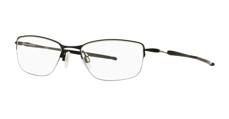 51a821b0c23 Amazon.com  Oakley Rx Titanium Eyeglasses - Lizard OX5120-0354 - Satin Black   Clothing