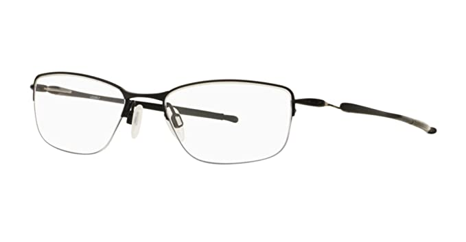 403384e9a12 Image Unavailable. Image not available for. Color  Oakley Rx Titanium  Eyeglasses - Lizard OX5120-0354 - Satin Black