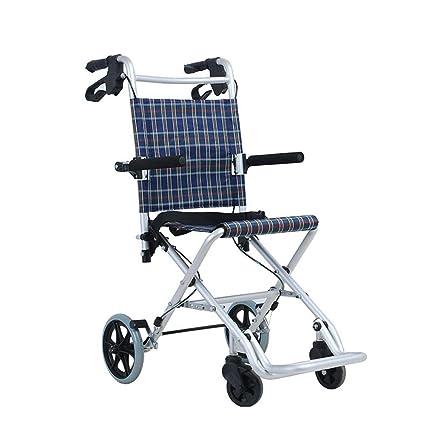 Viejo Carro del Hombre Se Puede Doblar Luz Compras De Compra De Alimentos Ayuda Movilidad Scooter