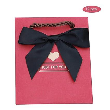 12 pcs bolsa de papel pequeña boda, Pequeñas bolsas de ...