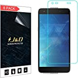 J&D Compatible for 8-Pack Alcatel Idol 5S Screen Protector, [Not Full Coverage] Premium HD Clear Film Shield Screen Protector for Alcatel Idol 5S Crystal Clear Screen Protector