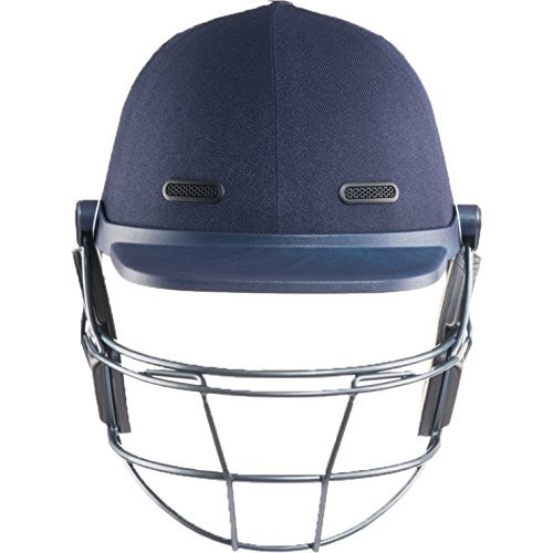 MASURI VS Elite Steel Adult Cricket Helmet, Blue, M by Masuri by Masuri
