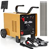 ARC Welder - ARKSEN Dual 110/220V 250AMP ARC Welding Machine Fan Cooled Single Phase, 2 Wheel, Yellow