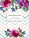 Appointment Book: Floral Watercolor, Appointment Book for Salons, Spas, Hair Stylist, Beauty, Appointment Book with Times Daily and Hourly Schedule ... Book 15 Minute Increments) (Volume 3)