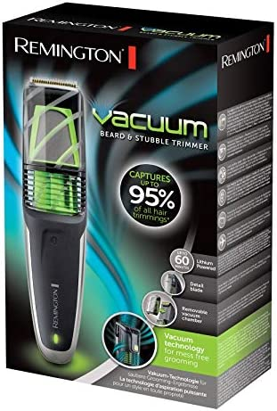 Remington MB6850 Vacuum – Barbero, Cuchillas de Titanio ...
