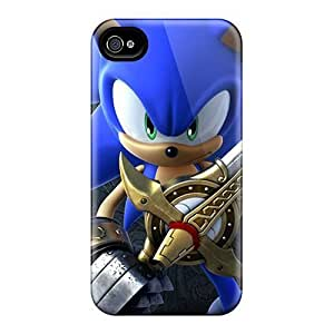 Defender Cases For Iphone 5C, Sonic 3d Hd Pattern Kimberly Kurzendoerfer