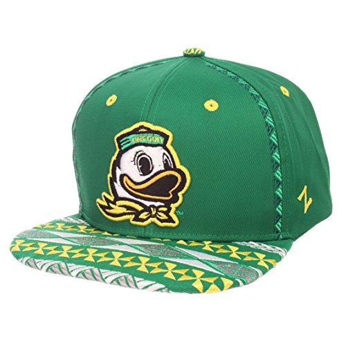 sports shoes e2741 5d6f7 ZHATS NCAA Oregon Ducks Adult Men Makai Snapback Hat, Adjustable, Team Color