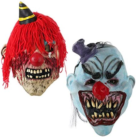 Scary Clown Mask for Adult product image