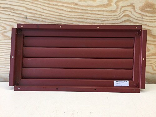 Kysor Industrial Shutter Assembly 1049-04741-01 Red Aluminum B-1B Aircraft from Kysor Industrial Corp.