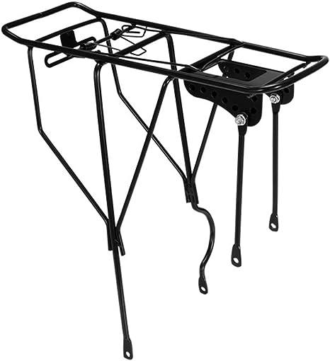 FYLY-Universal Portaequipajes para Bicicleta, Acero Rack de Carga ...