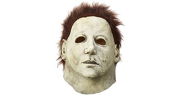 Máscara de Michael Myers Halloween 6: La maldición de Michael Myers: Amazon.es: Juguetes y juegos