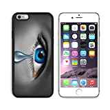 Liili Premium Apple iPhone 6 Plus iPhone 6S Plus Aluminum Backplate Bumper Snap Case iPhone6 Plus IMAGE ID: 12353991 Child abuse with the eye of a young boy or girl with a single tear crying due to th