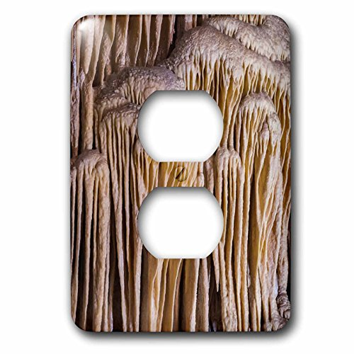 Danita Delimont - Carlsbad Caverns - USA, New Mexico, Carlsbad Caverns. Scenic of limestone formation. - Light Switch Covers - 2 plug outlet cover - Carlsbad Outlet