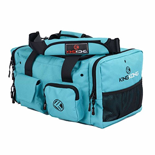 (King Kong Jnr Kong Small 1000D Nylon Gym Bag, Teal)