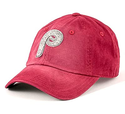 Philadelphia Phillies MLB American Needle Luther Washed Cotton Twill Logo Adjustable Hat