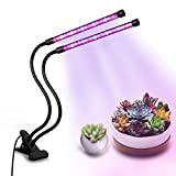 18W Dual Head LED Grow Light,Shengsite Clip Desk Plant Growing panel light with 360 Degree adjustable Gooseneck Grow Lamp for Office, Home, Indoor Garden,Greenhouse For Sale