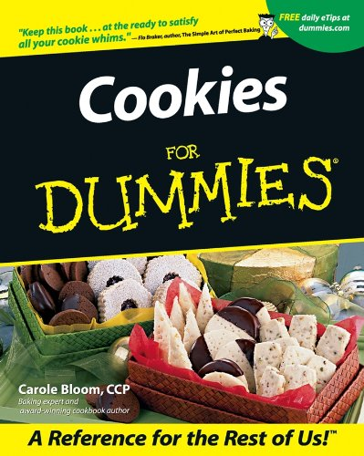 Cookies For Dummies by Carole Bloom