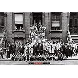 (24x35) Art Kane A Great Day in Harlem Jazz Portrait 1958 Photo Poster Print
