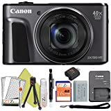 Canon PowerShot SX720 HS 20.3MP Digital Camera 40x Optical Zoom and Built-in WiFi/NFC (Starter Kit, Black)