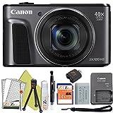 Canon PowerShot SX720 HS 20.3MP Digital Camera 40x Optical Zoom and Built-in WiFi/NFC (Starter Kit, Black) -  ZeeTech