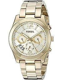 Fossil Women's ES3884 Analog Display Analog Quartz Gold-Tone Watch