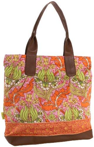 Amy Butler Cara, Temple Tulips Tangerine