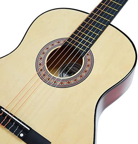 3rd Avenue Paquete de guitarra, Natural, Tamaño 3/4, Paquete ...