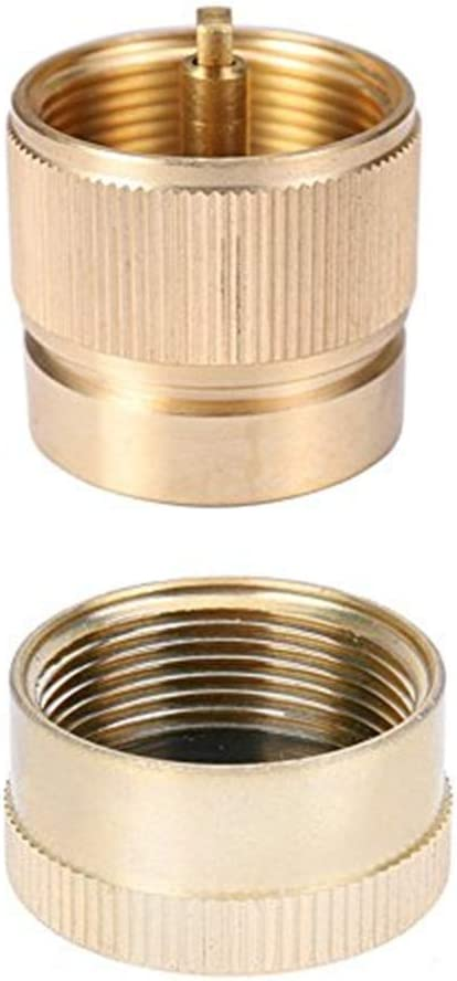 LPG Adapter Camping Stove Small Propane Tank Input Outpu Lindal ve L0Z1 Val D8A2
