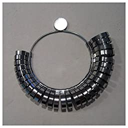 Ring Sizer Gauge Jewelers Finger Sizing Jewelry Tool 1 To 15 Wide Metal Tool Us