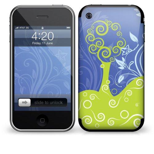 Skin für Apple iPhone 3G / 3GS - Weinlese- Bäume