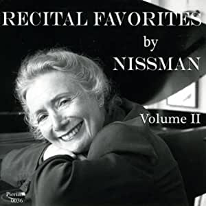 Recital Favorites By Nissman V