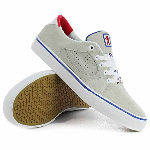 Skate Shoe Men Es Square Three Skate Shoes Grizzly White 17SWR