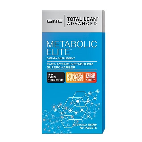 GNC Total Lean Advanced Metabolic Elite 60 Tablets