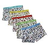 SmileWoman Underwear Brief Boy - Boys Boxer Briefs 5-pack - Underwear Brief Boy