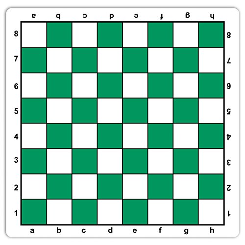 WE Games Green Mousepad Chessboard, 20 inches - made in USA by WE Games
