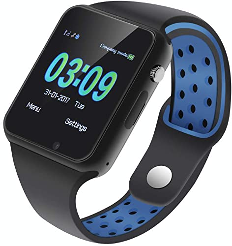 IOQSOF Smart Watch for Men Women with Sleep Monitor Sedentary Reminder Pedometer Bluetooth Smart Watches Compatible with Android iOS Samsung
