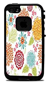 "Blooms Bursts Flower Vinyl Decal Sticker for iPhone 6 PLUS (5.5"") Lifeproof Case"