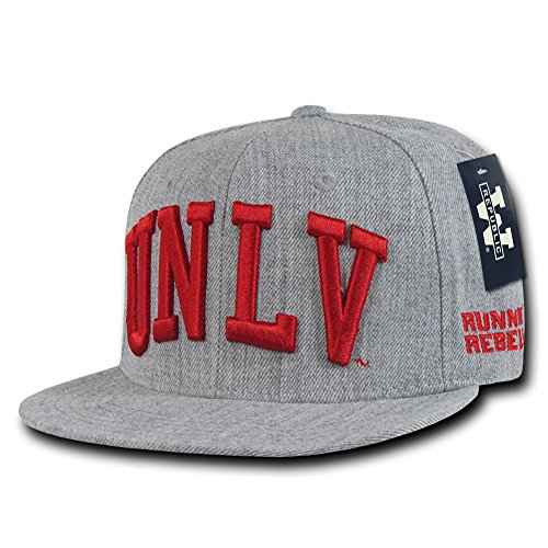 NCAA Game Day Fitted Cap College Caps - Univ of Nevada, 7 (Unlv Hats For Men)