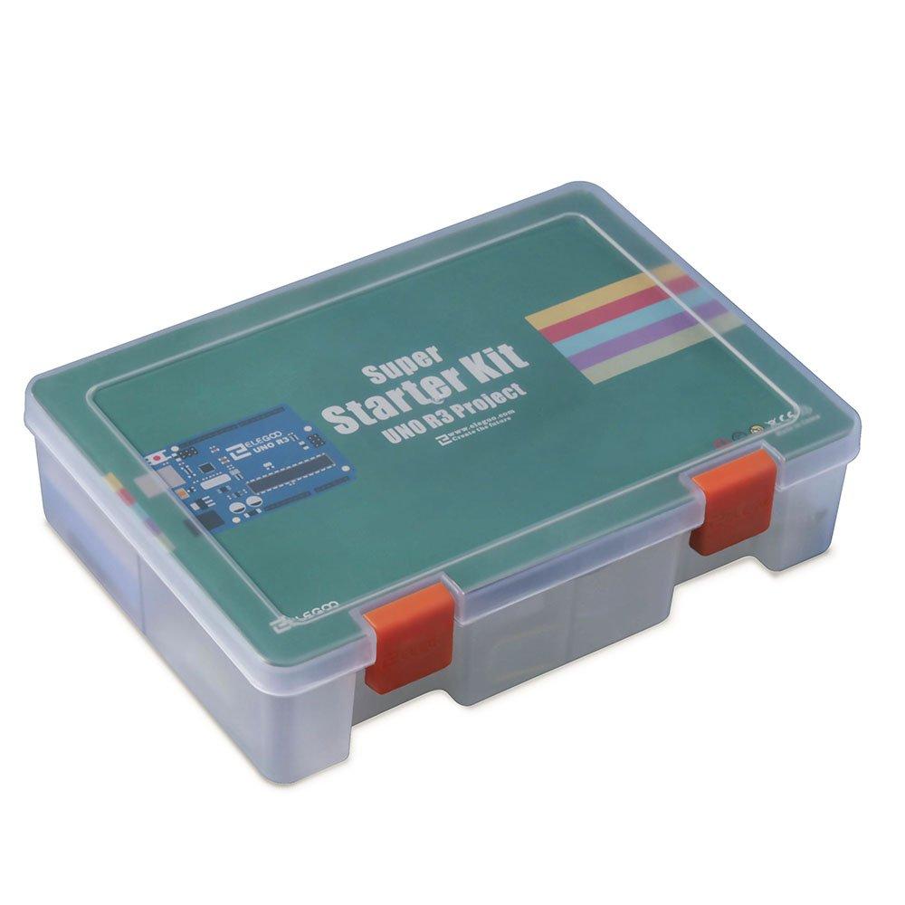 Amazon.com: Elegoo EL-KIT-003 UNO Project Super Starter Kit with ...