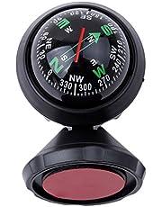 Iumer Compass Ball Car Mini Compact Adjustable Floating Ball Magnetic Navigation Dashboard