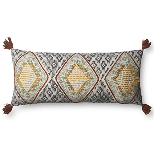 Loloi P0590 Pillow Cover with Poly Fill, 12