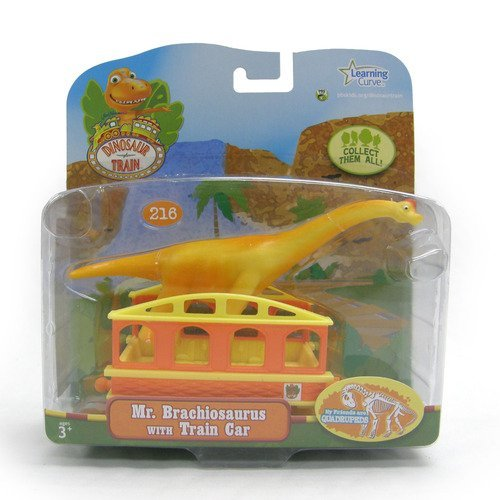 Learning Curve Dinosaur Train Collectible Dinosaur With Train Car - My Friends Are Quadrapeds: Mr - Car Collectible Train