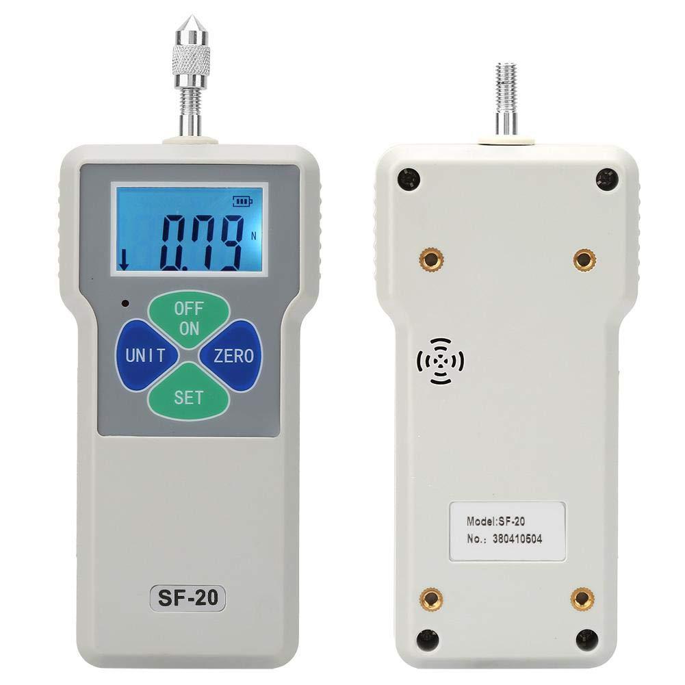 Mat/ériel Dynamom/ètre Num/érique,SF-20 Portable Tactile Testeur Mesureur De Force Num/érique 20N // 2kg // 4.5b 100-240V pour Mesure de la Force des Appareils Electriques Machines EU Plug
