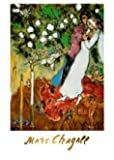 Posters: Marc Chagall Poster Reproduction - Les Trois Bougies (70 x 50 cm)