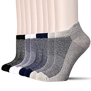 8 Pairs Trainer Socks for Men ...
